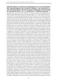 impuesto predial. el articulo 66, reformado, de la ley de hacienda ...