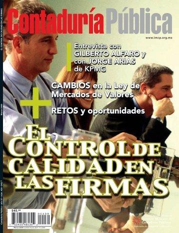 Revista Contaduría Pública - Colegio de Contadores Públicos de ...