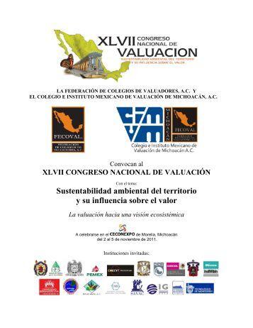 LA FEDERACION DE COLEGIOS DE VALUADORES, A