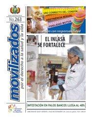 el inlasa se fortalece - Ministerio de Salud y Deportes de Bolivia