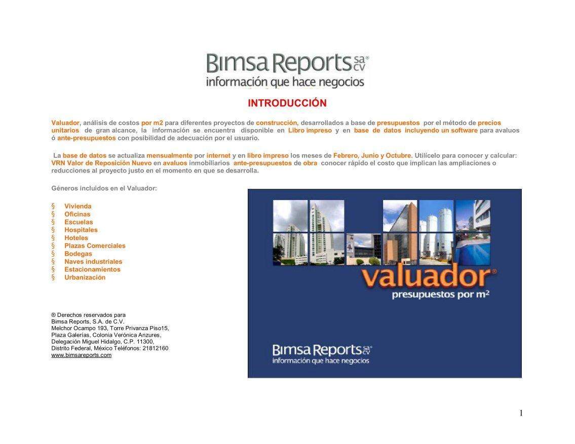 BIMSA REPORTS EPUB