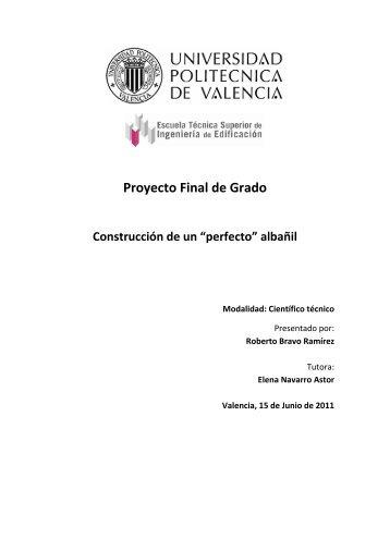 Construcción de ... Roberto Bravo Ramírez.pdf - RiuNet ...