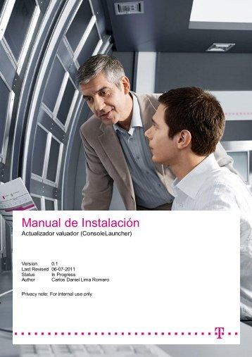 Manual de Instalación - prendamex