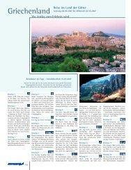 Griechenland Reise ins Land der Götter Wo Antike zum Erlebnis wird