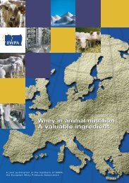 Whey in Animal Nutrition - A Valuable Ingredient - Euromilk