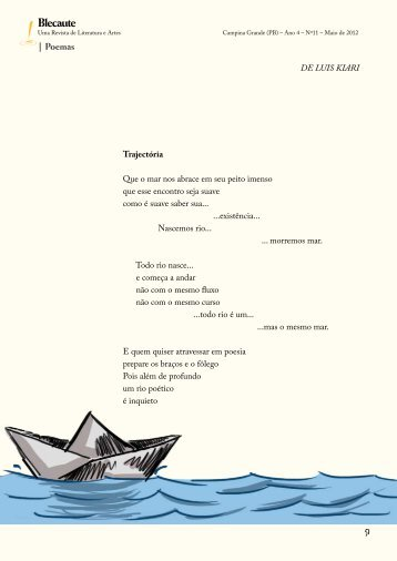 Valsinha torta e outras canções – Luis Kiari - Revista Blecaute