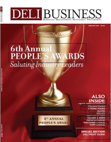 6th Annual PEOPLE'S AWARDS - Deli Business