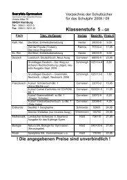 Klassenstufe 5 ? G8 - Saarpfalz-Gymnasium Homburg