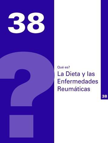 La Dieta y las Enfermedades Reumáticas - Sociedad Española de ...