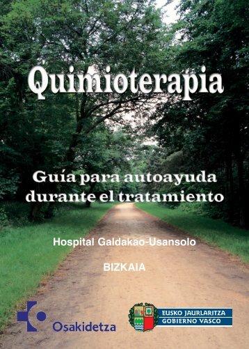 Manual de quimioterapia - Osakidetza