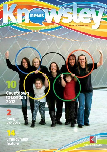 Countdown to London 2012 - Knowsley Metropolitan Borough Council