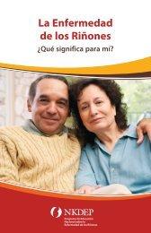 La Enfermedad de los Riñones - National Kidney Disease ...