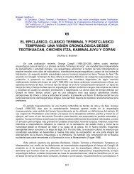 65 el epiclásico, clásico terminal y postclásico temprano - Division of ...