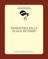 PRIMAVERA EN LA PLAZA DE PARÍS - Víctor Ruiz Iriarte