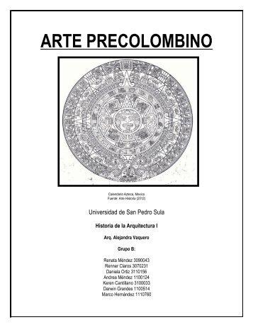 Informe Precolombino - Historia de la Arquitectura USPS