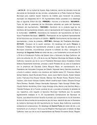 ---ACTA 01.- En la Ciudad de Tijuana, Baja California, siendo las ...
