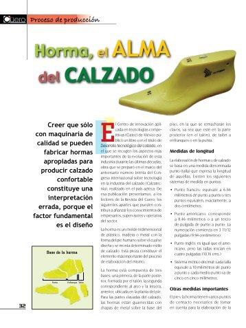 Horma, el Alma del Calzado - Calzawebperu.com