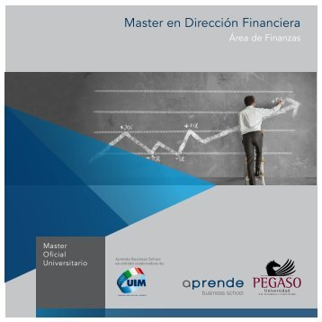 Master en Dirección Financiera - Aprende Business School Pegaso ...