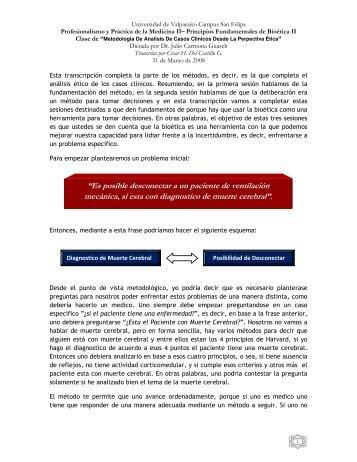 Metodología de análisis de casos clínicos