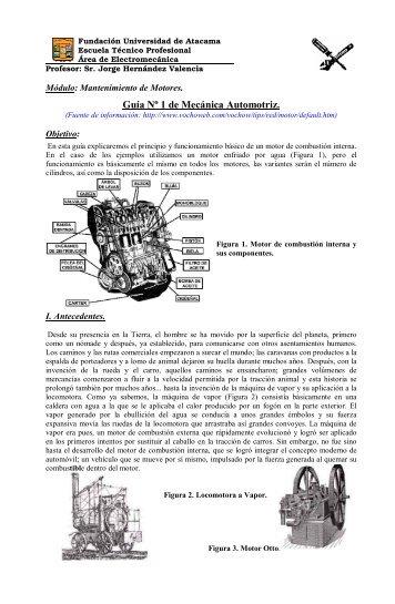 Mantenimiento de Motores - Escuela Técnico Profesional ...