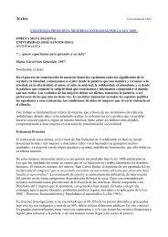 Existencia proscrita: mujeres castigadas por la Ley 1008 Jimena ...