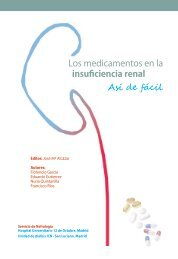 Los medicamentos en la insuficiencia renal Así de fácil - ALCER