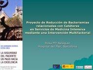Proyecto de Reducción de Bacteriemias ... - revista seden