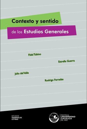 Contexto y sentido - Textos PUCP Textos - Pontificia Universidad ...