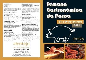 Semana Gastronómica do Porco - Beja Digital