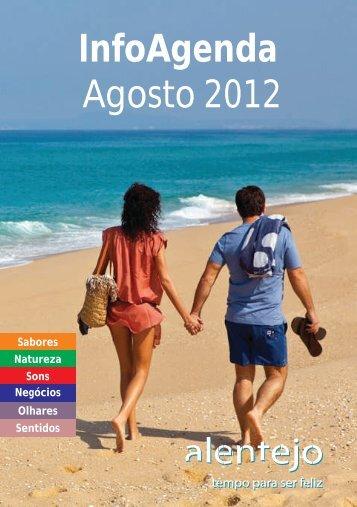 InfoAgenda Agosto 2012 - Turismo do Alentejo