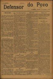 COIMBRA —Domingo, 16 de junho de 1895 A PENA DE MORTE