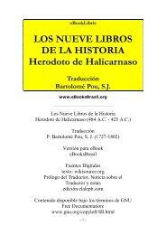 Los Nueve Libros de la Historia - Herodoto de ... - Música a la Xarxa
