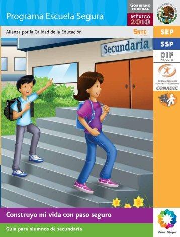 Guía para alumnos de secundaria - Conade