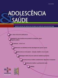 Uso e abuso de álcool na adolescência - Sociedade Brasileira de ...