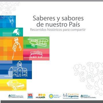 Saberes y sabores de nuestro País - Ministerio de Desarrollo Social