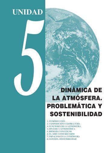 Unidad 5_Dinámica de la atmósfera. Problemática y sostenibilidad