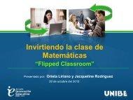 Invirtiendo la clase de Matemáticas: Flipped Classroom