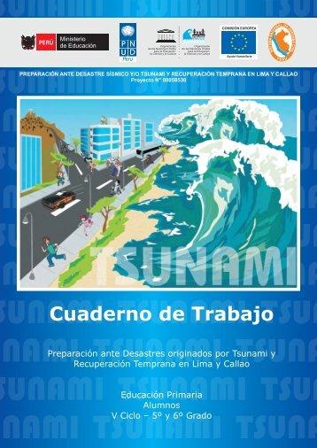 Manual alumno tsunami V 5o y 6o primaria - Indeci