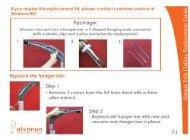 Alvaform Hanger Pole Flaking Replacement Guide - Alvanon
