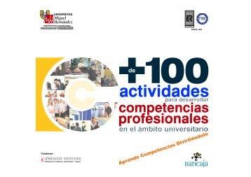 + de 100 actividades para desarrollar competencias profesionales ...