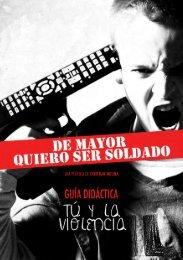 Guía Didáctica: De mayor quiero ser soldado - I want to be a soldier