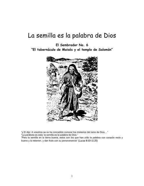 El Tabernaculo De Moises Y El Templo De Salomonpdf Iglesia De