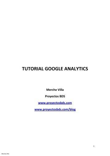 Tutorial Google Analytics - BDS