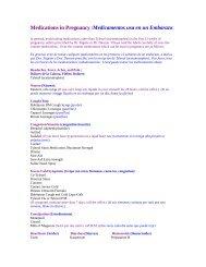 Medications in Pregnancy - Mockingbird OB/GYN