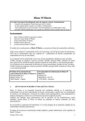 Diane 35 Diario - Bayer Schering Pharma