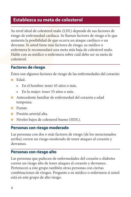 Tratamientos para el colesterol alto - AHRQ Effective Health Care ...