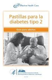 Pastillas para la diabetes tipo 2 - AHRQ Effective Health Care ...