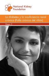 La diabetes y la insuficiencia renal crónica - National Kidney ...