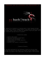Descarga PDF - Taxonomia de un ataque con Backtrack 4