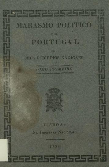 MARASMO POLITICO PORTUGAL - DSpace CEU